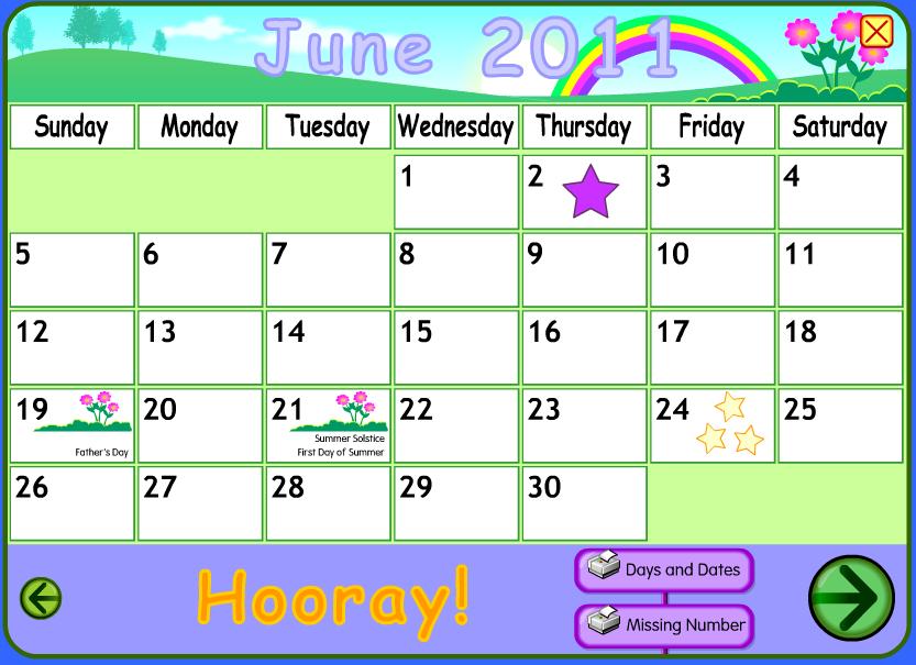 Starfall Calendar May | Calendar Template 2016