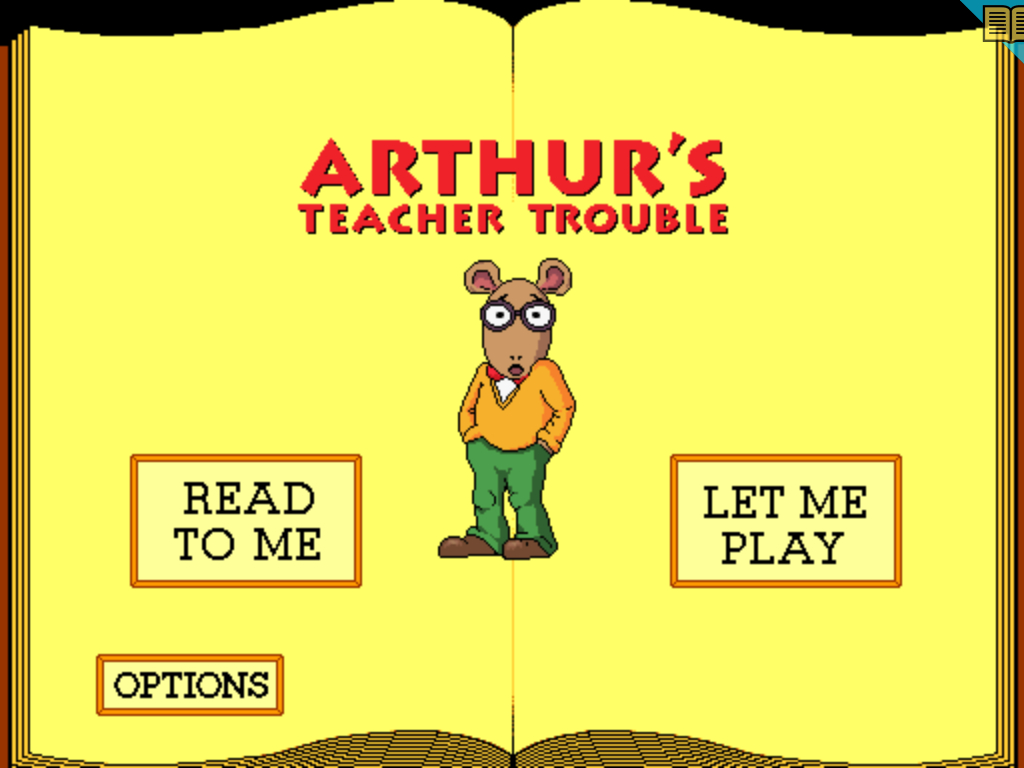 arthurs teacher trouble coloring pages - photo#26