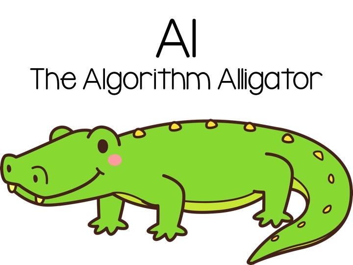Celebrating CS Week: Meet Al the Algorithm Alligator