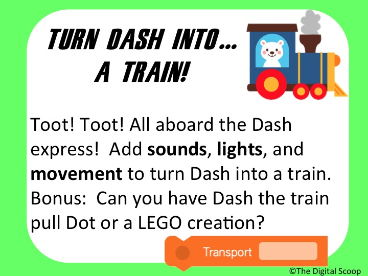Dash And Dot Robots Changing Dash Challenges The Digital Scoop